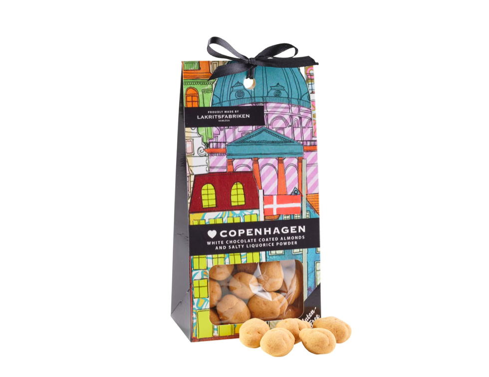 Copenhagen  - White chocolate & Almonds, 150 g