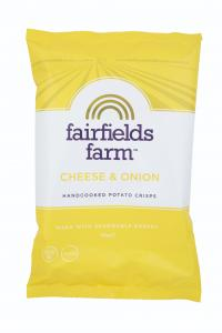 Fairfields Cheese & Onion 150g