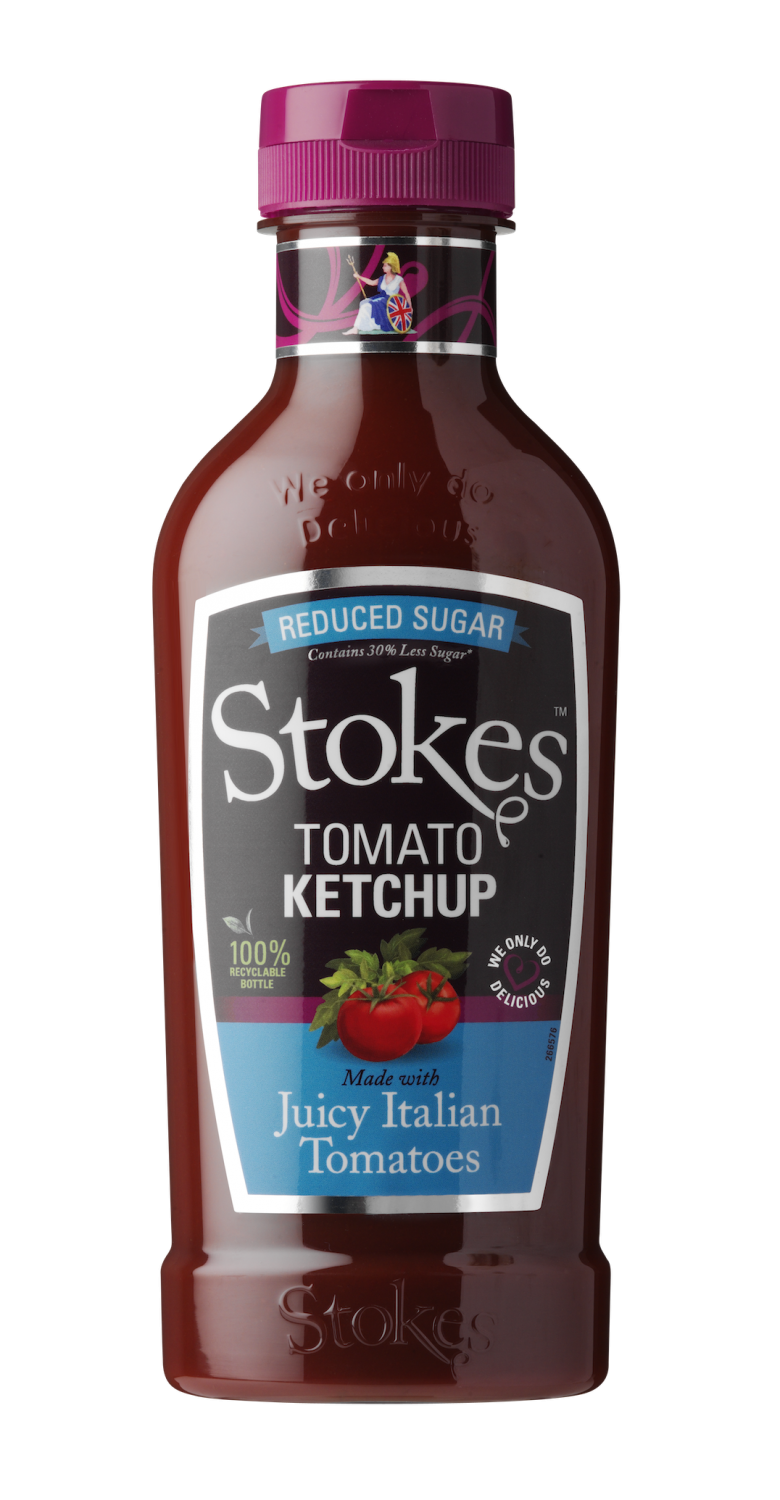 Tomato Ketchup Reduced Sugar Squeezy 475g