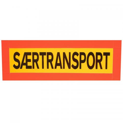 "Reflexskylt ""SÆRTRANSPORT"""