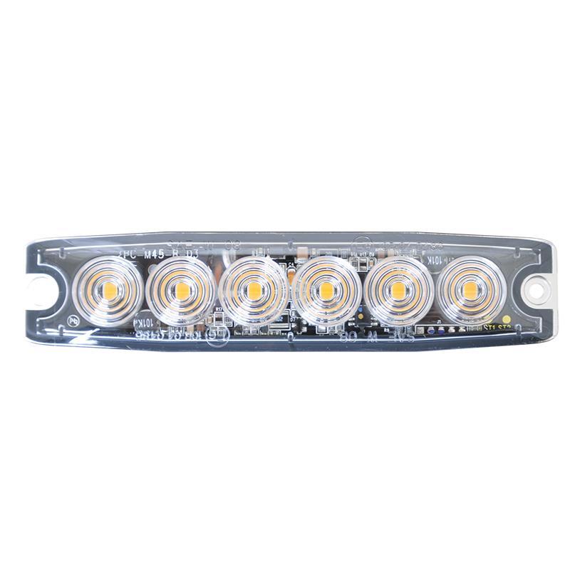 Blixtljus 6 LED Ermax