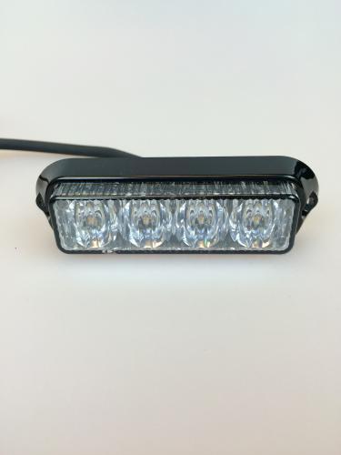 Blixtljus 4-LED orange
