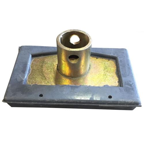 Foot for gas support bar