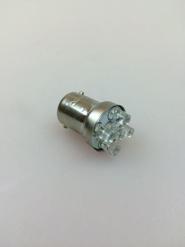 LED-lampa vit BA15S