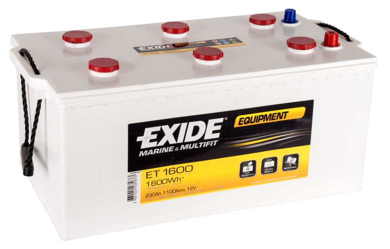 Batteri 12V 230AH Exide Equipment