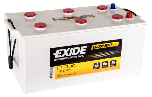 Battery 12V 230AH Exide Equipment
