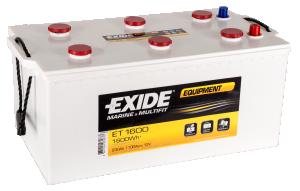 Batteri 12V 230AH Exide Equipment