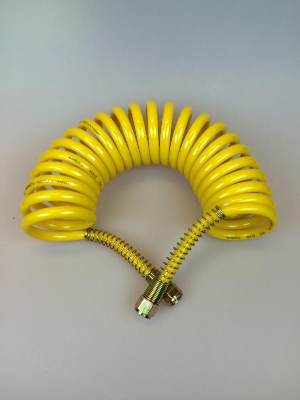 Luftslang M16 gul stålskydd