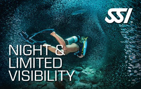 Fortsätningskurs - SSI Night Diving and Limited Visability