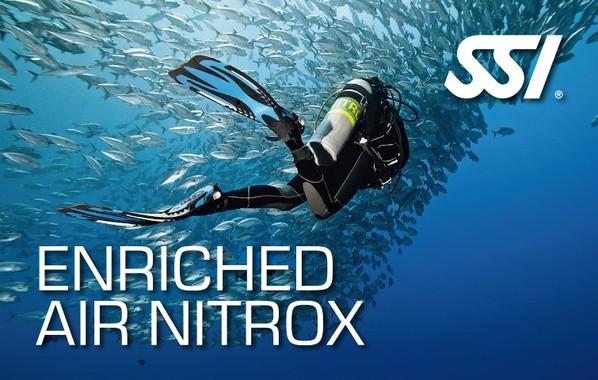 Fortsättningskurs - SSI Enriched Air Nitrox - Syreberikad luft (EANx)