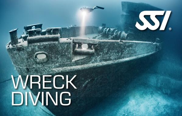 Fortsättningskurs - SSI Wreck Diver