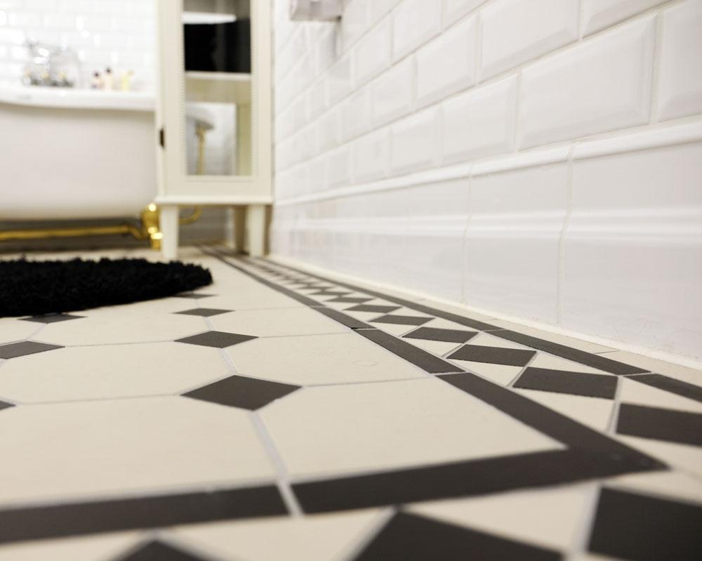 Tile Border Victorian Floor Tiles