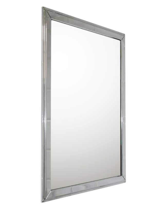Bathroom Mirror In Chrome Clic 20