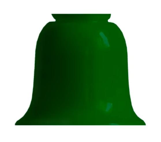 Klockskärm d130 (f60Grön)