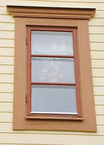 Krönlist fönster Allmoge 1 - 120 mm, gran - Sekelskifte