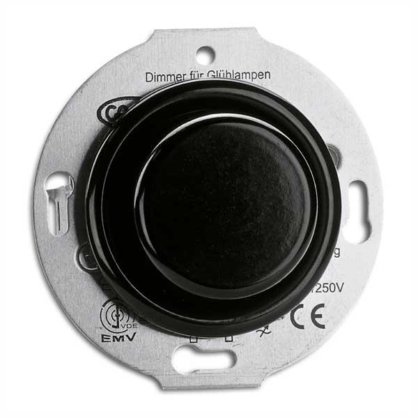 Strömbrytare insats - LED-dimmer bakelit