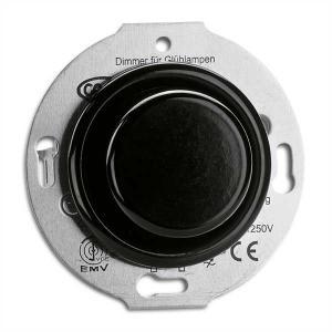 Switch insert - Dimmer round bakelite