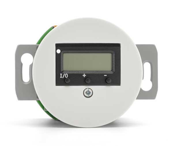 Digital termostatinnsats - Hvit porselen - arvestykke - gammeldags dekor - klassisk stil - retro - sekelskifte