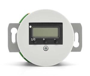 Digital termostat insats - Vit porslin - gammaldags inredning - klassisk stil - retro -sekelskifte