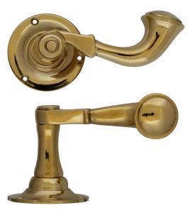 Door handle - Classic Post Horn (B)