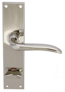 Door handle - With WC lock plate