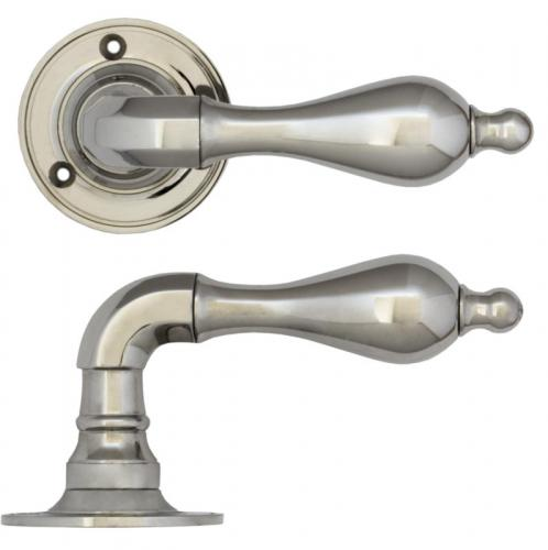 Door handle - Næsman 212 nickel