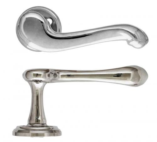 Door handle - Epok 1903 nickel