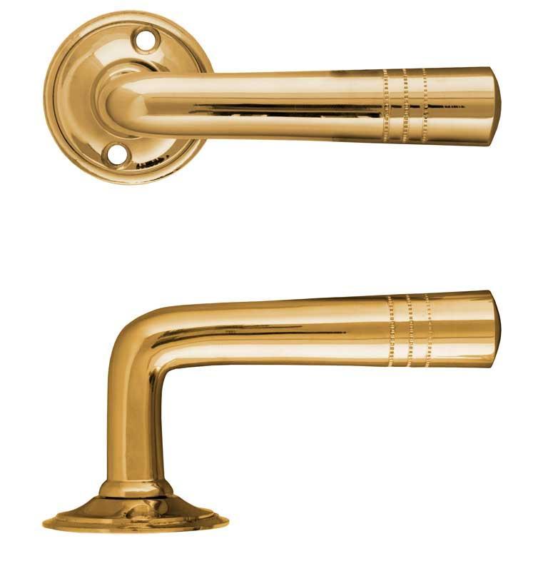 Door Handle - Nationalteatern round brass