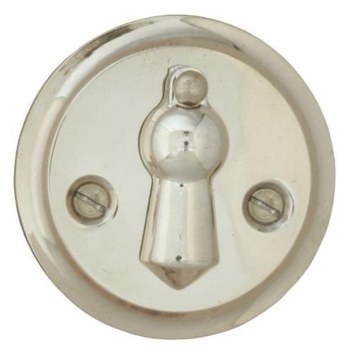 Escutcheon - Double clapper nickel 49 mm