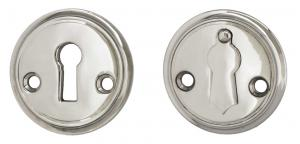 Escutcheon 47 mm Sekelskifte - Nickel with clapper