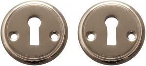 Escutcheon - Sekelskifte nickel 47 mm