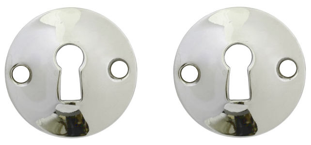 Escutcheon - Konvex nickel