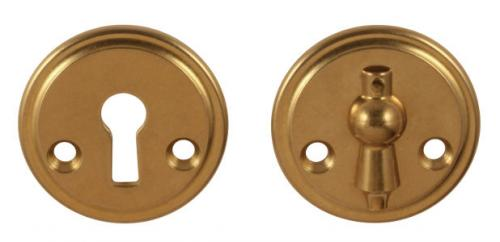 Escutcheon with clapper - Næsman 12 (M) 48 mm - oldschool interior - old fashioned style