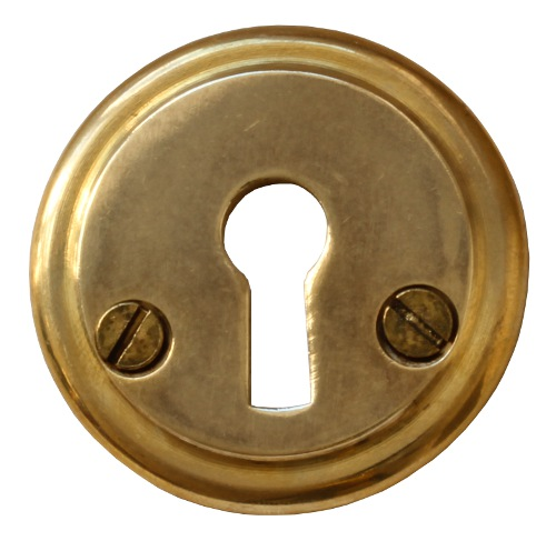 Escutcheon - Låsbolaget 7 brass 48 mm