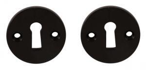 Nyckelskylt - Bakelit 45 mm - sekelskiftesstil - gammaldags inredning - retro - klassisk stil