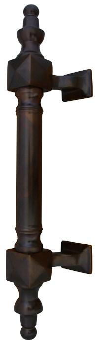 Pull handle - Door handle Castle bronze