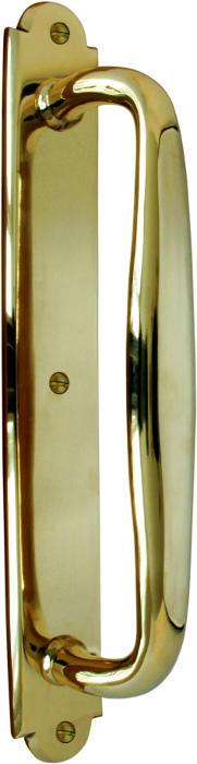 Pull handle - Jugend VII brass