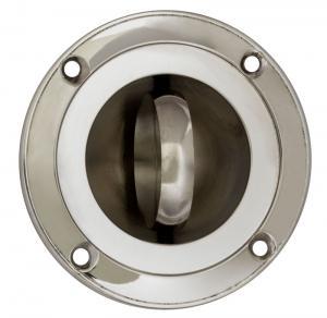 Round sliding door handle - Næsman 168 nickel - old style
