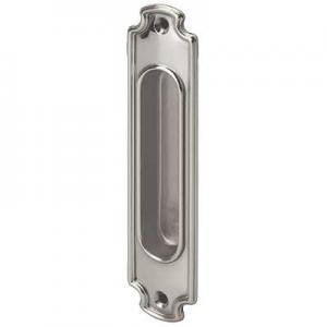 Sliding door handle - Linnéstaden nickel 160x37 mm