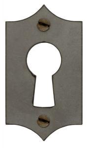 Nøkkelplate for kammerlås - F.A. Stenman - arvestykke - gammeldags dekor - klassisk stil - retro