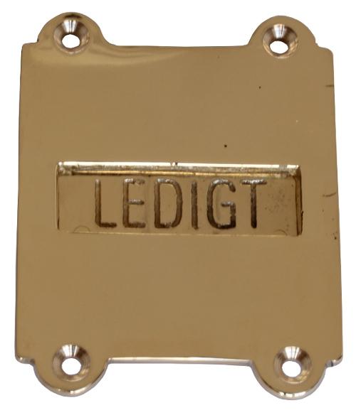 WC Latch - Næsman 199 brass