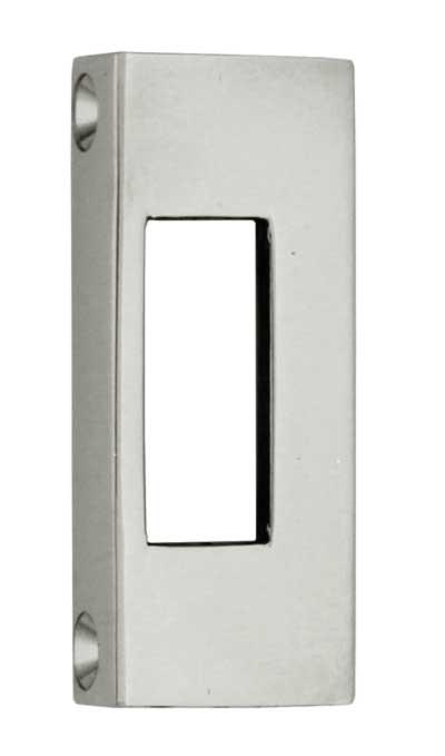 WC-lås rund - Toalettlås nikkel - arvestykke - gammeldags dekor - klassisk stil - retro