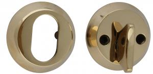Door lock cover - Brass 55 mm