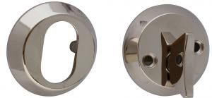 Door lock cover - Nickel 55 mm