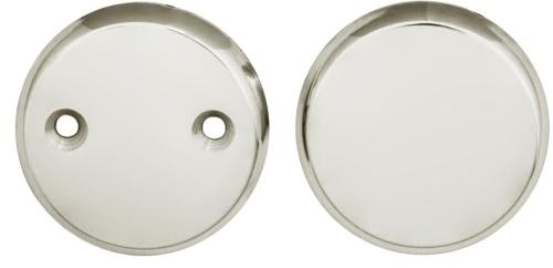 Cover plate nickel 55 mm