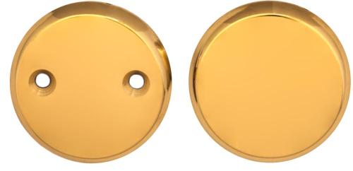 Cover plate brass 55 mm