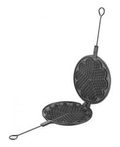 Vaffeljern Skeppshult - Støpejern 21 cm