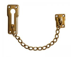Door chain Brass - Security chain for door