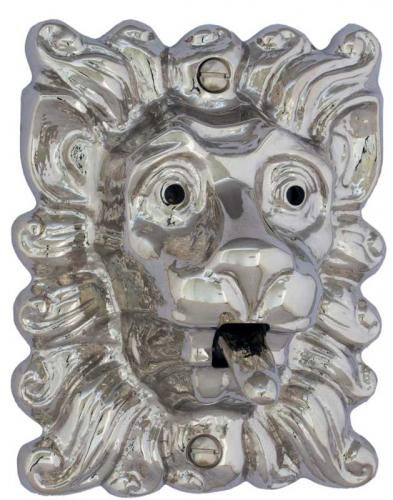 Bell Push - Lion tounge nickel