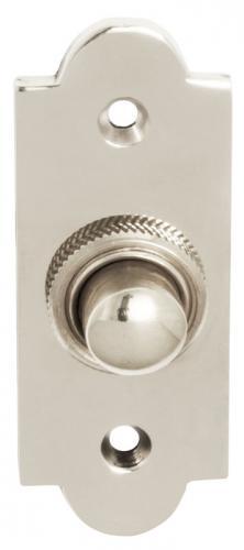 Bell Push - Nickel